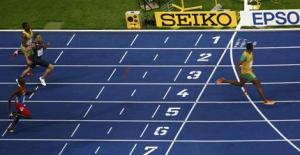 A casi 6 metros de Edward, Bolt rompió su propia marca